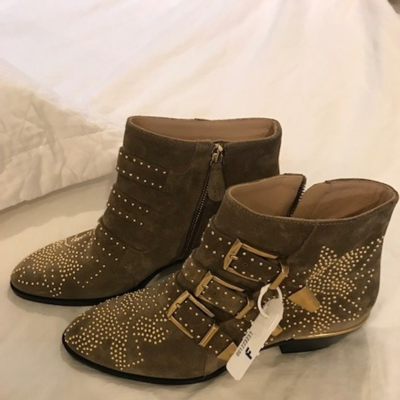 c85586ff Chloe Susanna Suede Boots Size 36 NWT